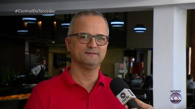 Vice de futebol do Inter fala sobre reforços e expectativa para partida