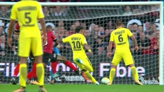 Veja lances de Neymar no jogo de estreia pelo PSG contra o Guingamp