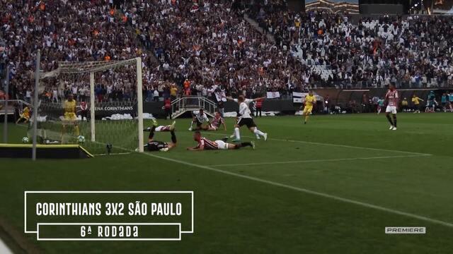 Vai, Corinthians - Todos os gols do Corinthians no primeiro turno do Campeonato Brasileiro