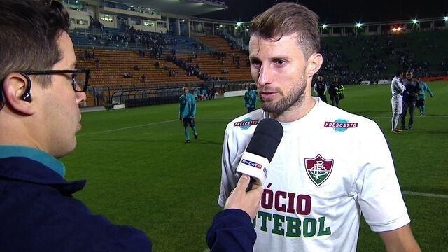 """Henrique após o empate sem gols com o Santos: """"Dever cumprido"""""""