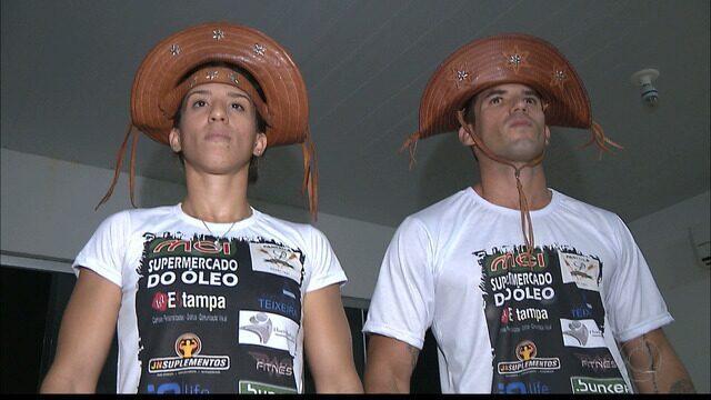 Casal Cangaceiro do MMA vai em busca de títulos para a Paraíba