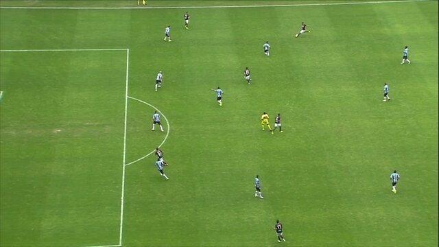 Melhores momentos: Grêmio 0 x 0 Atlético-PR pela 21ª rodada do Campeonato Brasileiro