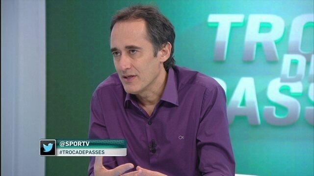 """Barreto vê problema em Botafogo se afastar do G-6: """"Corre risco de ficar sem nada no ano"""""""