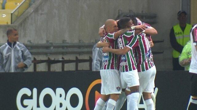 Os gols de Fluminense 2 x 1 Atlético-MG pela 21ª rodada do Brasileirão 2017