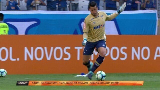 """Destemido, goleiro Fábio bota Lenis no chão com belo drible e é o """"abusado"""" da rodada"""