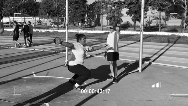 Fabyolla Ribeiro segue os passos de atleta olímpica e vira a nova promessa do atletismo