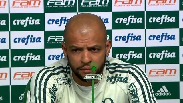 BLOG: Depois de entrevista constrangedora, Felipe Melo volta a treinar