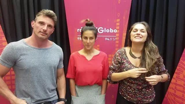 Carol Barcellos é convidada especial do programa Eu Atleta na Rádio Globo