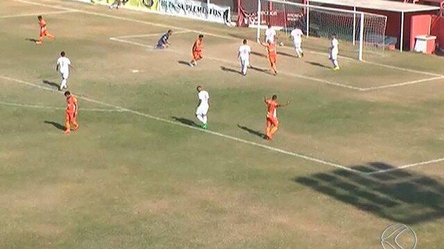 Inter de Minas sofre gol no início e perde para Coimbra na Segunda Divisão
