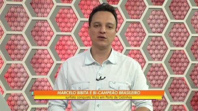 Marcelo Bibita é bicampeão brasileiro de pranchões em Porto de Galinhas