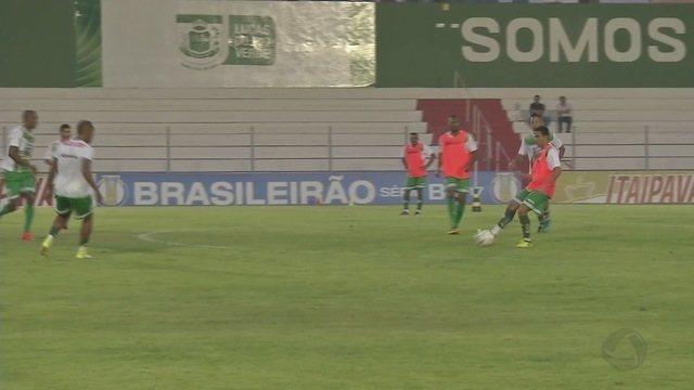 Luverdense ajusta a pontaria para tentar se afastar do Z-4 da Série B do Brasileirão