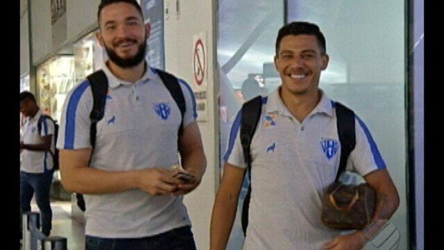 Paysandu viaja para Goiânia sem o zagueiro Diego Ivo lesionado