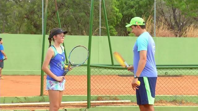 Nova geração do tênis tocantinense busca conquistas na 5ª etapa do Estadual
