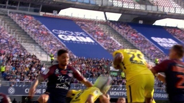 PSG pressiona e cabeçada de Mbappé não acerta o alvo aos 12 do 2º tempo