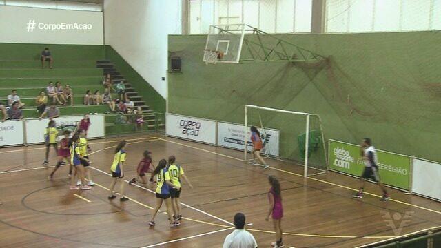 Oitavas de final agitam a 13ª edição da Copa TV Tribuna de Handebol Escolar