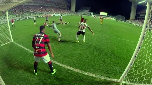 Os gols de Atlético-MG 1 x 3 Vitória pela 25ª rodada do Brasileirão 2017