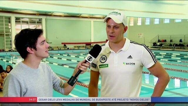 BLOG: Para quem não viu... Cesar Cielo no SporTV