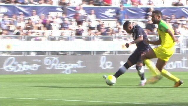 Os gols de Bordeaux 1 x 1 Nantes pela 9ª rodada do Campeonato Francês