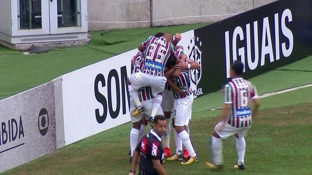 O gol de Fluminense 1 x 0 Avaí pela 28ª rodada do Brasileirão