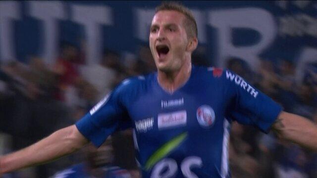 Os gols de Strasbourg 3 x 3 Olympique de Marselha pelo Campeonato Francês