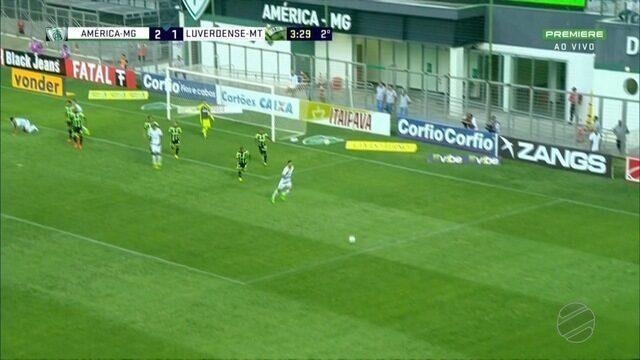 Luverdense perde para o América e retornar ao Z-4 da Série B do Brasileiro
