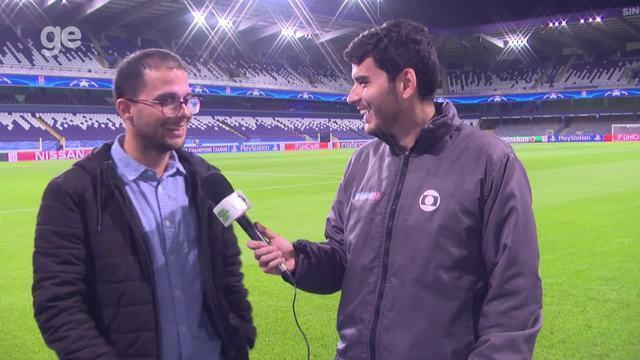 Ivan Raupp e Felipe Rocha trazem os preparativos de Anderlecht x PSG, pela Liga dos Campeõ