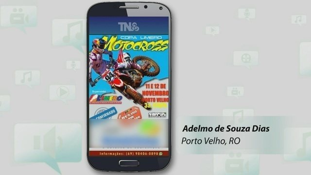 Campeonato de Motocross é destaque no TÔ NA REDE