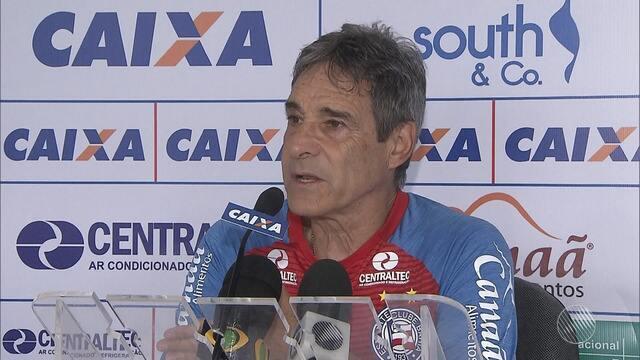 Com Rodrigão machucado, Carpegiani fala sobre opções do Bahia em jogo contra o Flamengo