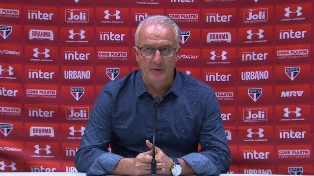 Dorival Júnior analisa a derrota do São Paulo para o Fluminense