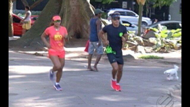 Atletas se preparam para Corrida e Caminhada do Círio