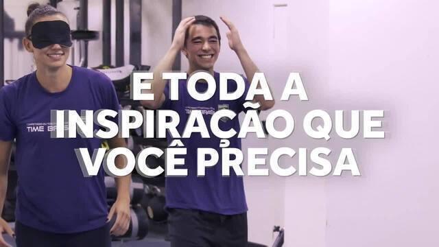 Atletas olímpicos brasileiros fazem desafio de praticar esporte em qualquer ambiente