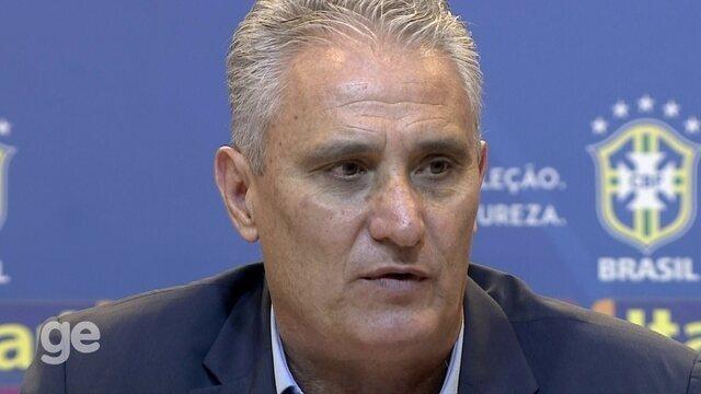 Tite fala sobre as diferenças entre Diego Souza e Tardelli e explica convocação