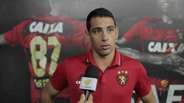 Sport pega Atlético-PR com Diego Souza para lá de empolgado por ter sido convocado