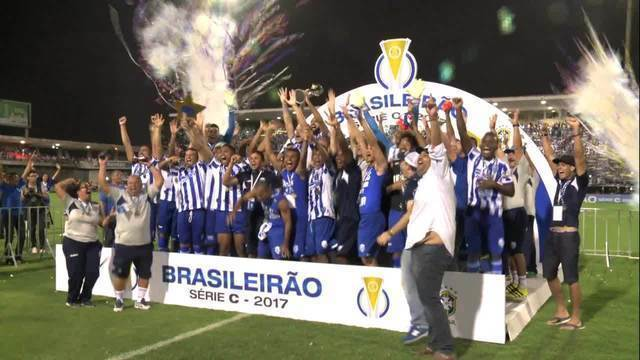 CSA empata com o Fortaleza e conquista a Série C do Brasileiro
