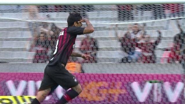 Os gols de Atlético-PR 2 x 1 Sport pela 30ª rodada do Campeonato Brasileiro