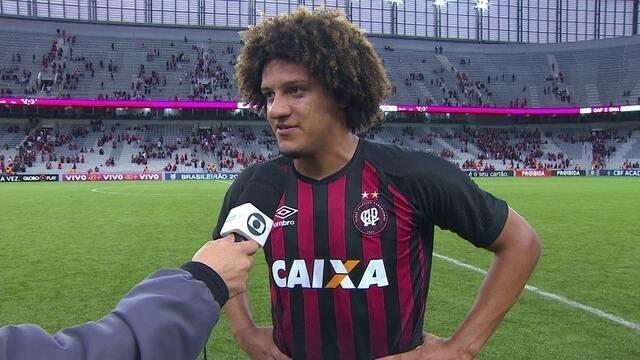 Gedoz comenta vitória sobre o Sport pelo Brasileirão: