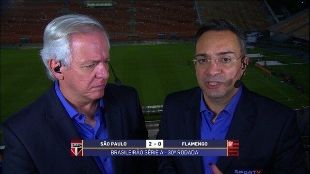 Maurício Noriega destaca atuação de Jucilei em vitória do São Paulo