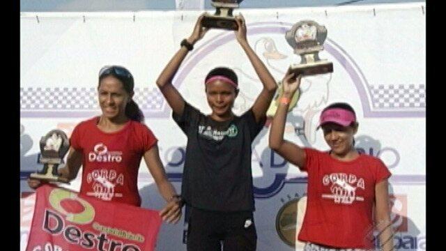 Franciane Santos conquista o primeiro lugar entre as mulheres na Corrida do Círio