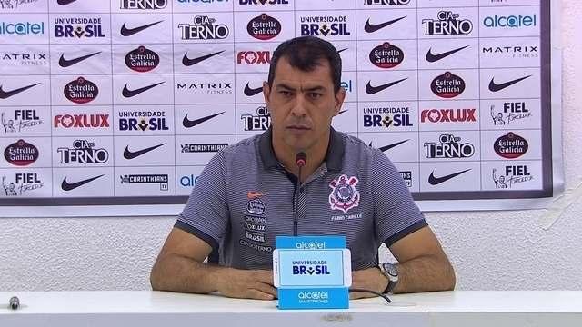 Coletiva Fábio Carille - Botafogo x Corinthians