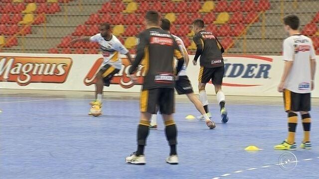 Sorocaba Futsal volta aos trabalho e se prepara para a disputa dos Jogos Abertos