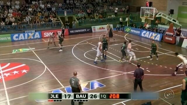 Consistente, Bauru vence o Joinville fora de casa se recupera no NBB