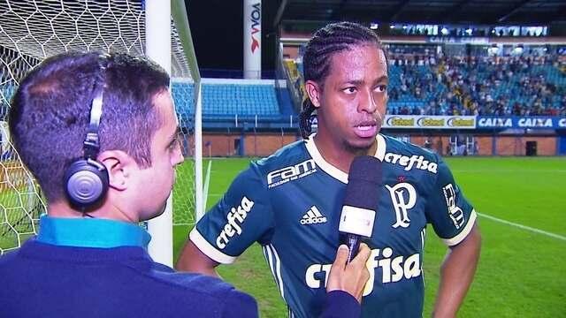 Keno lamenta derrota do Palmeiras para o Avaí