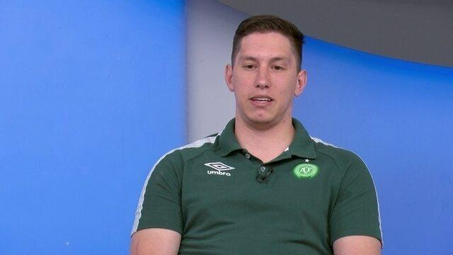 BLOG: Jackon Follmann fala da tragédia da Chapecoense um ano depois e fala em tentar natação paralímpica