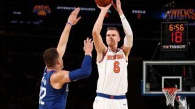 Melhores momentos: Los Angeles Clippers 85 x 107 New York Knicks pela NBA