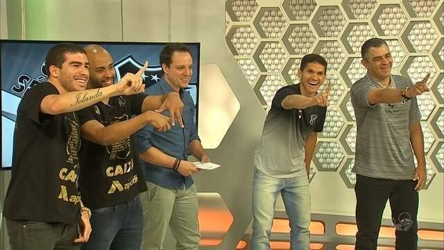 Veja como foram os bastidores da entrevista de Chamusca e jogadores do Ceará