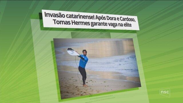 Invasão catarinense! Após Dora e Cardoso, Tomas Hermes garante vaga na elite