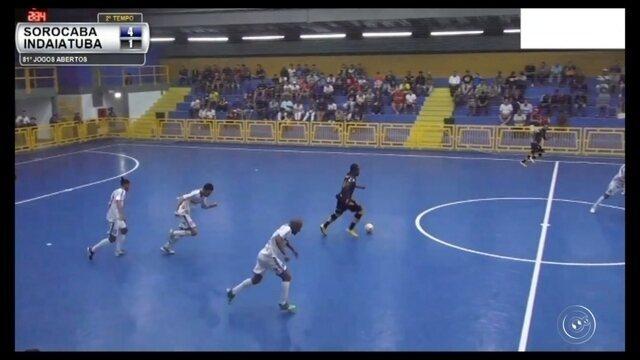 Sorocaba Futsal é o campeão dos jogos abertos do Interior