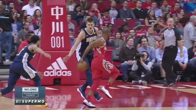 Melhores momentos: Houston Rockets 125 x 95 Denver Nuggets pela NBA