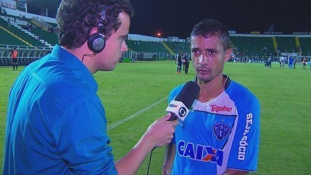 """Juninho, após derrota no último jogo do ano: """"Pensar na próxima temporada agora"""""""