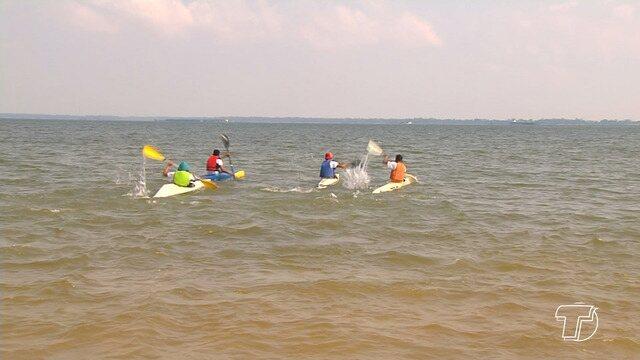 16ª edição da maratona de canoagem é realizada em Santarém
